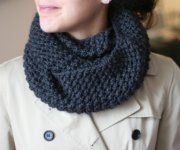 Knit Infinity Scarf Pattern