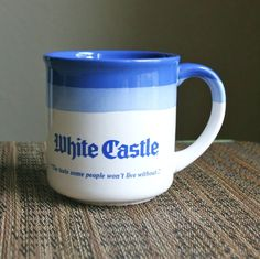 White Castle Coffee Cup