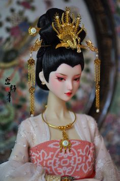 Chinese Style, Chinese Art, Chinese Fashion, Chinese Culture, Chinese Dolls, Asian Doll, Doll Crafts, Bjd Dolls, Ball Jointed Dolls