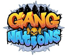 Gang nations ui design on behance. Bg Design, Game Logo Design, Graphic Design, Game Font, Game Ui, Letras Abcd, Toys Logo, Game Props, Cartoon Logo