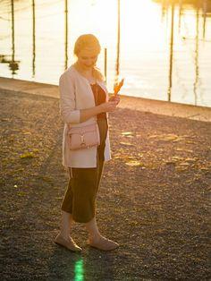 Herbstlook mit Culottes.  www.marmormaedchen.ch