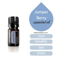 Juniper berry essential oil impacts the digestive system, nervous system, skin, and more. Smells just like gin!