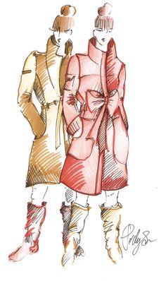 Fashion drawing :)