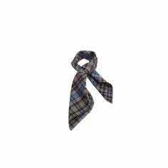 Lenço Vintage Azul Jeans de Satin #lenços #lenço #scarf #scarfs