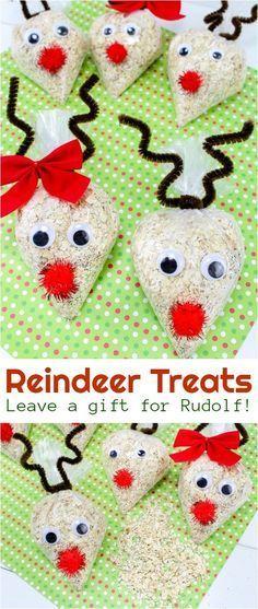 Reindeer food recipe #christmas #santa #reindeer #holidaydiy #christmascraft