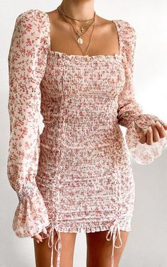 Girly Outfits, Cute Casual Outfits, Pretty Outfits, Stylish Outfits, Dress Outfits, Casual Dresses, Fashion Dresses, Summer Dresses, Women's Dresses
