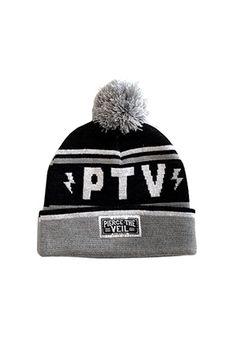 Pierce The Veil | Merch Store - PTV Pom Beanie