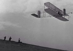 December 17, 1903: In Kitty Hawk, North Carolina, the Wright brothers made the first powered flight. It lasted 12 seconds.