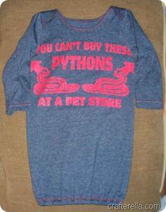 Pythons. too cute! :)