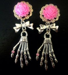 More COLORS Creepy Cute Dangly Skeleton by ArsenicaAccoutrement, $25.00