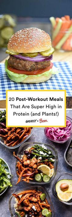 Protein shakes are just gonna have to wait. #greatist https://greatist.com/eat/high-protein-meals-with-plants-fuel-post-workout