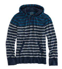 AE Striped Hoodie T-Shirt