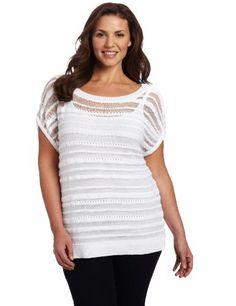 Jones New York Women's Short Sleeve Sweater, Linen White, 2X Jones New York,http://www.amazon.com/dp/B0080D16MK/ref=cm_sw_r_pi_dp_HFF3qb0C6ZR7NYD2