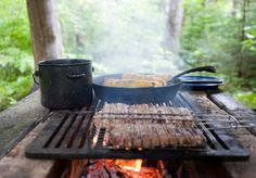 Whether you are an experienced camper or a novice, these campfire cooking tools can make your camping experience more enjoyable and vastly increase your options for camping food and recipes.