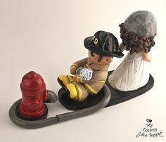 Noivo bombeiro