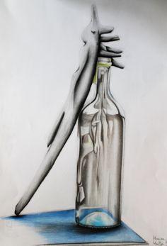 """Disegno dal vero. Alunna: Marisa Maffei 2A a.s.2014/2015 Liceo Artistico """"Stagio Stagi"""" Pietrasanta"""