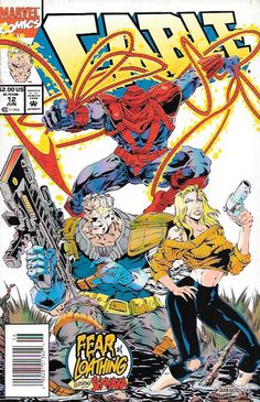 Cable #12 Marvel Comics Vol 1