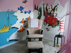 My daughter's nursery. Of course,she's 4 now!