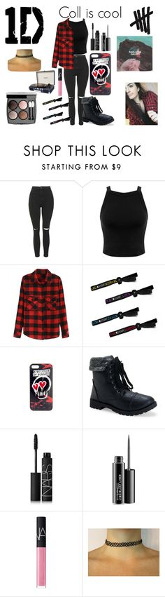 """Coll is cool // Youtuber"" by fashiongirlxcx ❤ liked on Polyvore featuring Topshop, Miss Selfridge, Aéropostale, NARS Cosmetics, MAC Cosmetics, Chanel and Dot & Bo"