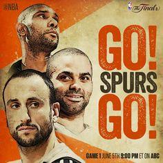 NBA Finals 2014 Go Spurs Go