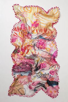 Dyed Anemone Scarf - Anthropologie.com