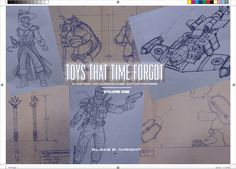 """A first-of-its-kind art book highlighting a series of """"lost"""" toy projects, mainly action figures, spanning three-plus decades. Now live on Kickstarter!    WHAT IS TOYS THAT TIME FORGOT? Do you remember back in the early 1980s, playing with all of the toys based on the sci-fi fantasy film Krull"""