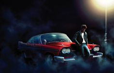 Illustration #2 of the upcoming CHRISTINE, 30 years anniversary edition by PS Publishing