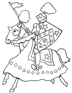 Charging knight color page fantasy medieval coloring pages, color plate, coloring sheet,printable coloring picture Make your world more colorful with free printable coloring pages from italks. Our free coloring pages for adults and kids. Cartoon Coloring Pages, Colouring Pages, Coloring Sheets, Adult Coloring, Coloring Books, Free Coloring, Medieval Crafts, Medieval Party, Castle Crafts