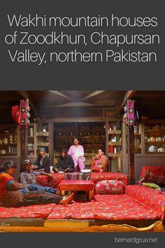 Karakoram Highway, Hunza Valley, Dry Stone, Walled City, Mountain Homes, People Sitting, Sitting Area, Pakistan, Living Spaces