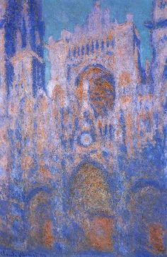 Rouen Cathedral, Symphony in Grey and Rose Claude Monet - 1892