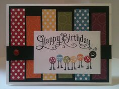 Bug Me Stampin Up:  Stampin' in the Sun