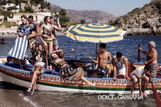 Dolce and Gabbana - Spring Summer 2013 ad campaign