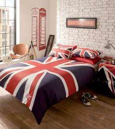 london flag bedding