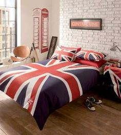 london flag bedding