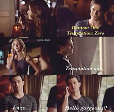 I love they way he drops everything for caroline . It is so hot ;)