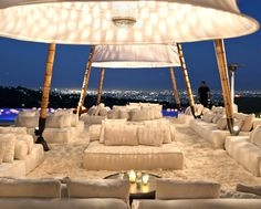 Wedding Tents and Decor by Gypset creative event design, decor and tenting from Gypset in LA Wedding Lounge, Tent Wedding, Wedding Decor, Wedding Ceremony, Wedding Parties, Outdoor Lounge, Outdoor Theatre, Salas Lounge, White Lounge