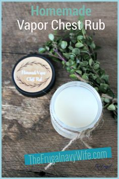 Homemade Vapor Chest Rub is so easy to make, all you need to do is follow this recipe! #vaporrub #homemade #DIY #frugalnavywife #diyskincare #beautytips #chestrub #homeremedy #vaporrub | Natural Remedies | Wellness | Skincare | DIY Ideas | Homemade Vapor Rub | Homemade Chest Rub | Home Remedy for Sickness Do It Yourself Projects, Do It Yourself Home, Amazing Crafts, Fun Crafts, Home Remedies For Sickness, Chest Rub, Navy Wife, Diy Home Decor On A Budget, Mom Advice