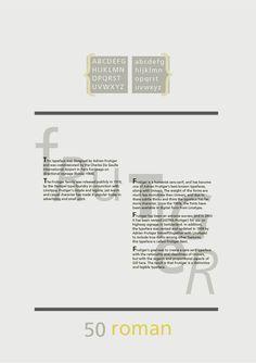 Study - Typography - Frutiger - Poster #2.1