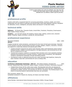 Musician Resume Music Industry Executivepage2  Entertainment Resumes  Pinterest