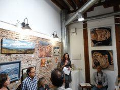 Exposición Feeding art madrid - Malasaña Gabriela del Olmo . Animal Portrait Artist pinturas de animales hiperrealistas, pintora española