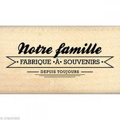Tampon Border line - Fabrique à souvenirs 4 x 7 cm Family Relations, French Quotes, Tampons, Positive Attitude, Journal Cards, Photo Book, Album Photo, Cool Words, Best Quotes