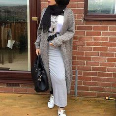 Hijab fashion Hijab style Winter hiver