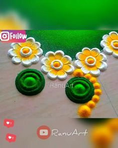 Easy Rangoli Designs Videos, Rangoli Designs Simple Diwali, Rangoli Simple, Indian Rangoli Designs, Rangoli Designs Latest, Rangoli Designs Flower, Free Hand Rangoli Design, Rangoli Border Designs, Small Rangoli Design