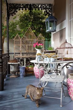 It was a case of love at first sight — and in many ways a triumph of imagination over common sense — when interior designer Tanya Sturgeon first set eyes on this diminutive Victorian villa. Outdoor Furniture Sets, Outdoor Decor, Behr, Love At First Sight, Common Sense, Imagination, Villa, Victorian, Rooms