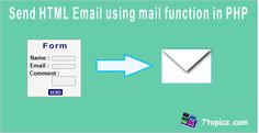 Send HTML Email using mail function in PHP