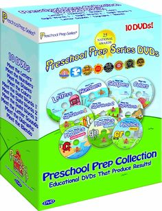 10 DVD Collection This combination  of Boxed sets includes all of our  award winning DVDs. Meet the  Letters, Numbers, Shapes, Colors,  Sight Words 1,2 & 3 and Meet the  Phonics - Letter Sounds, Digraphs  and Blends.