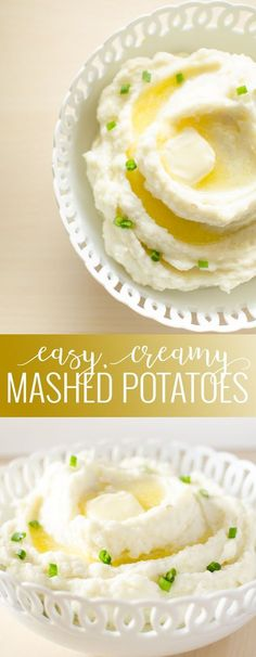 The best and easiest tutorial for fluffy, buttery, creamy homemade pressure cooker mashed potatoes recipe! Homemade Mashed Potatoes Recipe, Healthy Mashed Potatoes, Making Mashed Potatoes, Easy Potato Recipes, Mashed Potato Recipes, Thanksgiving Side Dishes, Thanksgiving Recipes, Thanksgiving 2017, Pressure Cooker Mashed Potatoes