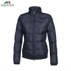 Equiline Ruby Jacket - Navy - £157. This stunning Equiline Ruby Jacket is the stand-out piece from the Spring/Summer collection.