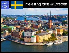 Can't help we're the best country in the world :P Interesting facts about Sweden