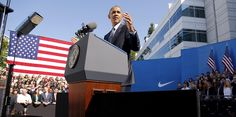Obama Visits Nike HQ in Push for Trade Deal